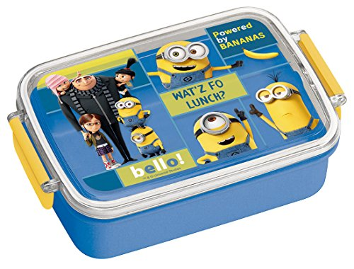 Skaters Boîte à bento pour Enfant 450 ML Minions Bob and Friends Made in Japan RB3 A