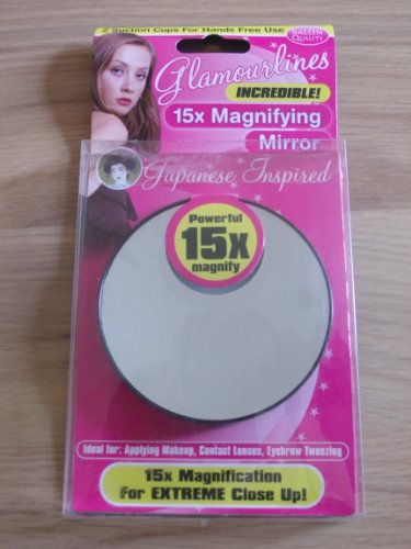 Glamourlines Miroir grossissant 15 x