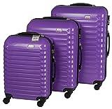 Penn Luggage Sets Colour Koffer-Set, 98.550 Liter, Violett