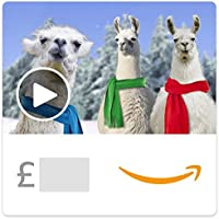 Christmas Llamas Deck the Halls (Animated) -  Amazon.co.uk eGift Voucher