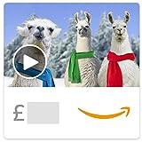 Christmas Llamas Deck the Halls (Animated) - Amazon.co.uk eGift Voucher