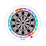 GRANBOARD 3 White Edition - Online Match - Smartphone with Bluetooth Home Electronic Dart Board -