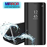 POBIN for LG G8s ThinQ Case,Ultra Thin Mirror Smart Clear