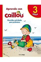 Descargar gratis Aprende con Caillou 3 años en .epub, .pdf o .mobi
