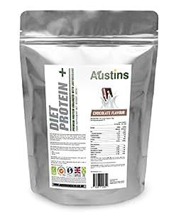 Austins Diet Whey Protein Powder enhanced with L-Carnitine & antioxidants (Chocolate)