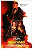 LICENCE TO KILL - JAMES BOND - US Movie Wall Poster Print - 30CM X 43CM Brand New 007