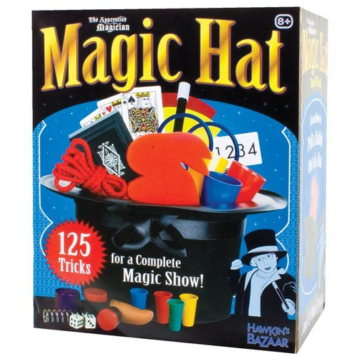 Tobar magic hat - scatola con cappello magico e giochi di prestigio
