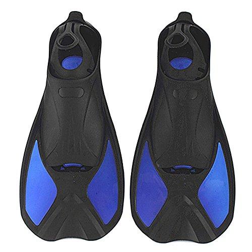 EIN Point Kinder Tauchen Light Short Flossen Schwimmen Schnorcheln Frosch Schuhe Multifunktions Flossen, blau