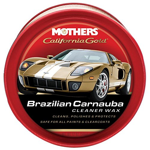 Mother\'s Mothers 05500 California Gold Pure Brazilian Carnauba Cleaner Autowachs Paste
