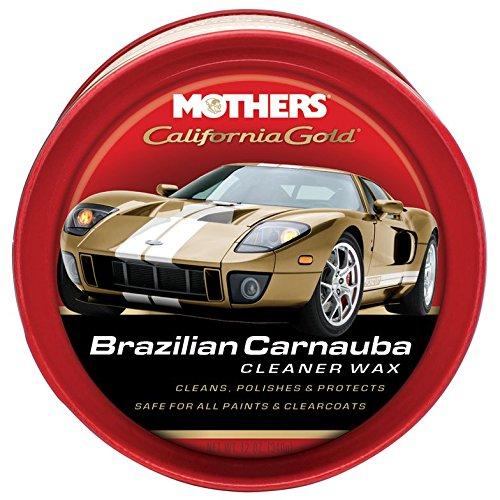 Mother's Mothers 05500 California Gold Pure Brazilian Carnauba Cleaner Autowachs Paste -