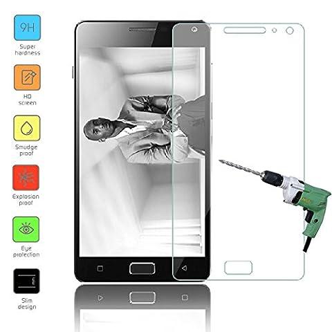 Owbb Protection écran en Verre Trempé pour Lenovo Vibe P1 Smartphone Films de protection Transparents Ultra Clear