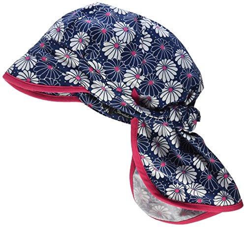 Sterntaler Schirmmütze für Mädchen mit Nackenschutz und Blume-Motiv, Alter: 18-24 Monate, Größe: 51, Bunt