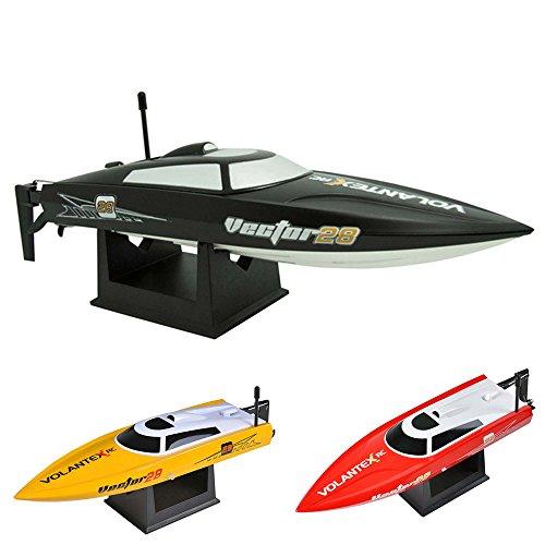 2.4GHz ferngesteuertes RC Speedboot vollproportionale Steuerung,bis zu 30km/h,Komplett-Set RTR