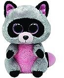 TY - Peluche mapache, 15 cm, color gris (United Labels 36727TY)