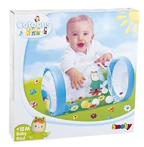 Smoby - 211158 - Jouet d'éveil et 1er Age - Cotoons - Baby Rouleau - Rose