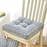 gaojiangang A Komfort-sitzkissen Verdicken, Esszimmerstuhl Sessel Gartenstuhl Riser Kissen, Atmungsaktive Sitzerhöhung-C 40x40cm(16x16inch)