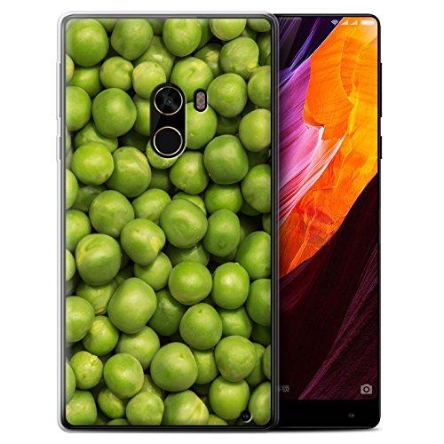 Stuff4 Gel TPU Hülle / Case für Xiaomi Mi Mix 2 / Grüne Erbsen Muster / Lebensmittel Kollektion - Erbsen-mix