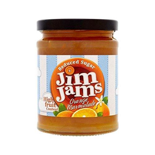 Jimjams Sucre Réduit Marmelade D'Orange 300G - Paquet de 2