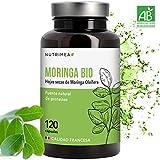 Moringa Bio 120 Capsulas Moringa Oleifera - Superfood Antioxidante Natural Sistema Inmunológico Energia - 400 mg Apto para Veganos