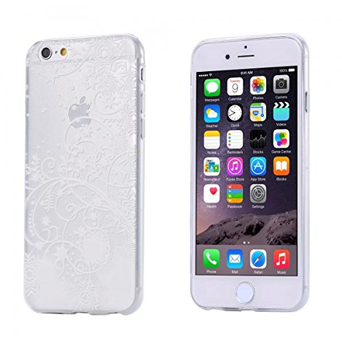 ECENCE APPLE IPHONE 6 6S (4,7) SLIM TPU CASE SCHUTZ HÜLLE HANDY TASCHE COVER TRANSPARENT DURCHSICHTIG CLEAR 12020501 Transparent Stern