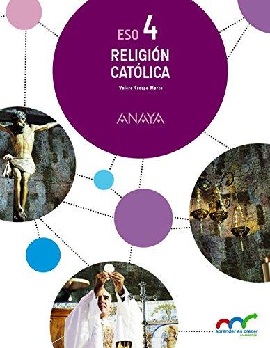 Religión Católica 4. (Aprender es crecer en conexión) - 9788469811436