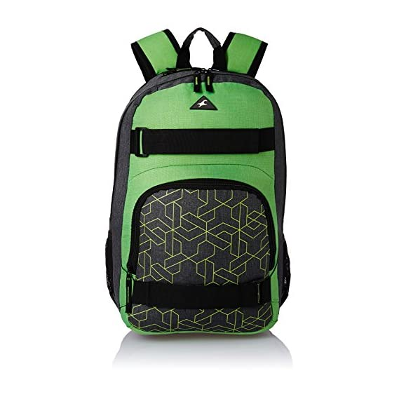 Fastrack 28.32 Ltrs Green Casual Backpack (A0654NGR01)
