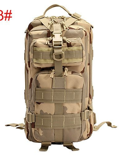 GXS Clothin Wasserdicht Outdoor Sport Hiking Trekking Military Tactical Rucksack Schultern Tasche - color 1#