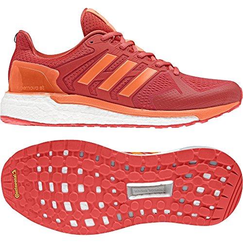 adidas Supernova St W, Chaussures de Running Compétition Femme Orange (Real Coral S18/hi-res Orange S18/hi-res Red S18)