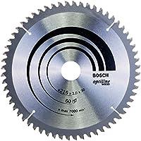 Bosch 2608640433 Lame de scie circulaire Optiline Wood 216 x 30 x 2,0 mm, 60, 1 pièce