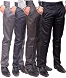 #1: Jhon Diego Formal Trousers- Pack Of 4