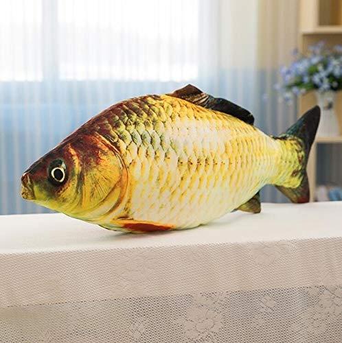 YOUHA Bett Tier Spielzeug Hause Sofa Kissen Große Fische Neue Simulation Sitz Dekoration Große Plüsch Kuscheltiere Kinder Baumwolle Dekokissen 30 cm Fisch
