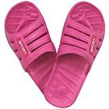 1 Paar Damen Badelatschen, Freizeitlatschen, Badepantoletten Größe: 37, Pink, pi-37