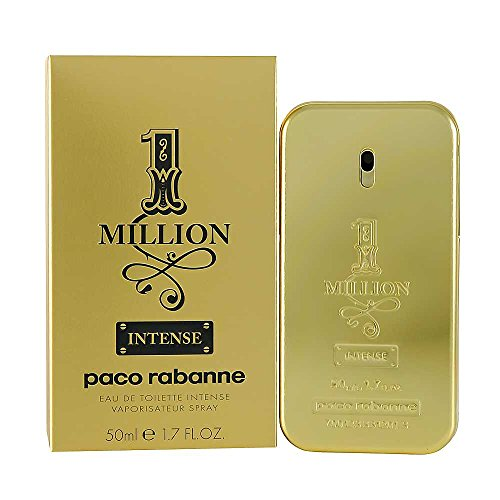 1 Million Intense By Paco Rabanne For Men (Eau De Toilette, 50 ML)