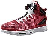 adidas Herren D Rose 6 Boost Baseballschuhe, Rot (Ftwr White/Scarlet/Core Black), 39 1/3 EU