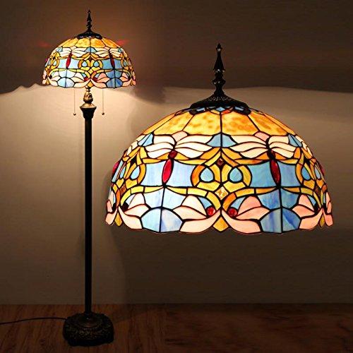 uncle-sam-li-hotel-clubs-continental-warm-lamps-bedroom-living-room-floor-lamp-baroque-blue-mood
