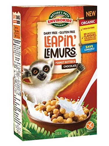 Nature's Path EnviroKidz Organic Leapin Lemurs Cereal Peanut Butter & Chocolate -- 10 oz by Nature's Path (English Manual)