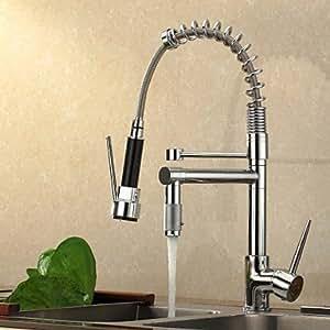 ALFRED® contemporain haute pression Chrome robinet de cuisine