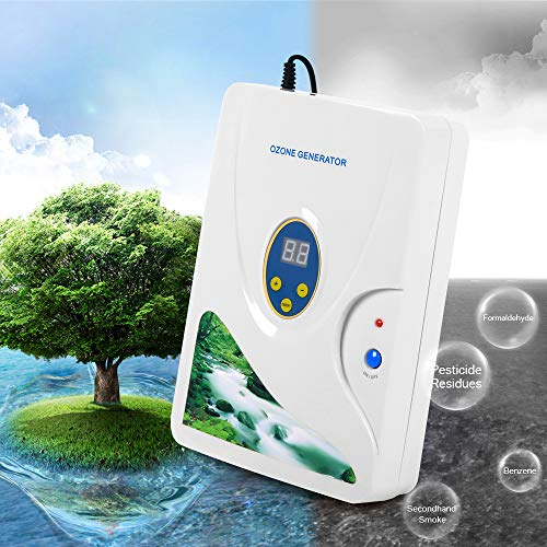 Ozon Generator wasser,600mg/h ozongerät Air Purifier Ozongenerator Gemüse-Sterilisator Ozon-Wasser Ozon Entgiftung Maschinen für Obst Gemüse -