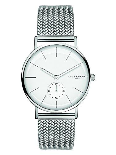 Liebeskind Berlin Damen Analog Quarz Uhr mit Edelstahl Armband LT-0108-MQ