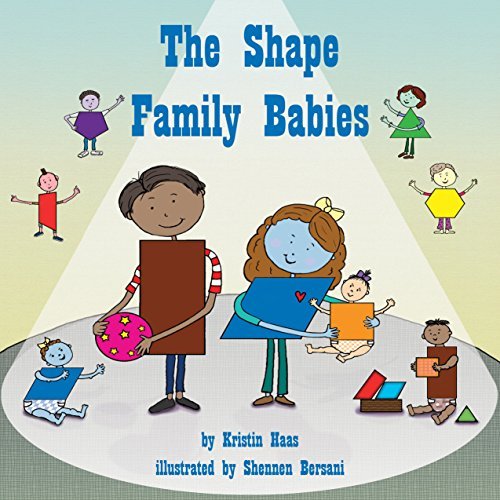 The Shape Family Babies  Audiolibri