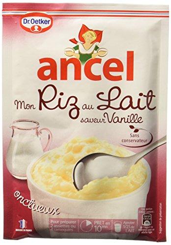 Ancel Mon Riz au Lait saveur Vanille 125 g - Lot de 6