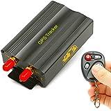 GPS Tracker–Dispositivo de seguimiento de vehículo GPS SMS GPRS Rastreador Tiempo real Syatem remoto TK103B