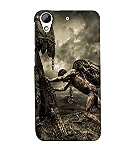 For HTC Desire 728 budha ( budha, god, baghwan, lord, jesus, cristrian, allah ) Printed Designer Back Case Cover By Eaglehawk