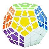 Maomaoyu 3x5 Megaminx Dodecahedron Dodecaedro Cubo Magico(Blanco)