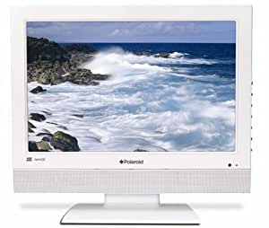"Polaroid TLU-01941WU - 19"" Widescreen HD Ready LCD TV -  With Freeview - White"
