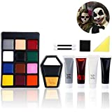 PBPBOX Halloween Schminke Make Up Kit Zombie Schminken