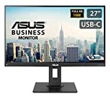 """ASUS BE279CLB 27"""" Business Monitor, FHD (1920x1080), IPS, DP, HDMI, USB-C with Power Delivery 80W, Mini-PC Mount Kit, Flicker free, Low Blue Light, Ergonomic Stand"""
