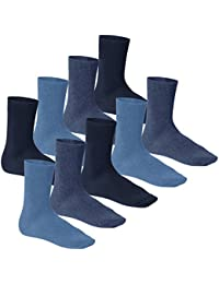 Footstar - Herren Premiumsocken Baumwolle mit Komfortbund - celodoro - 3 Paar, 6 Paar oder 9 Paar