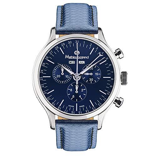 MLG-1008G Mathieu Legrand Tournante Acier Bleu Bleu