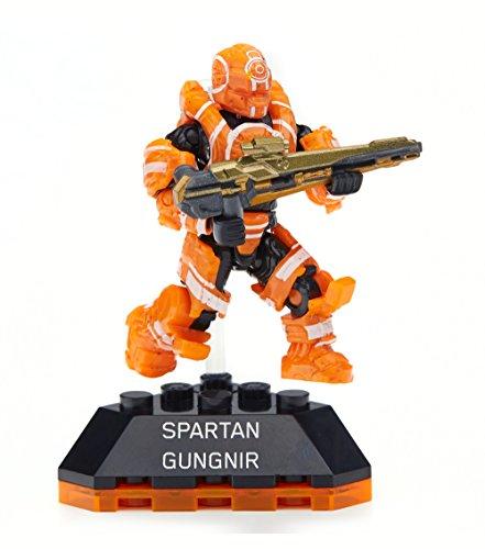 Mattel Mega Bloks - Halo DPJ82 Heroes Serie 2 - Spartan Gungnir Minifigur